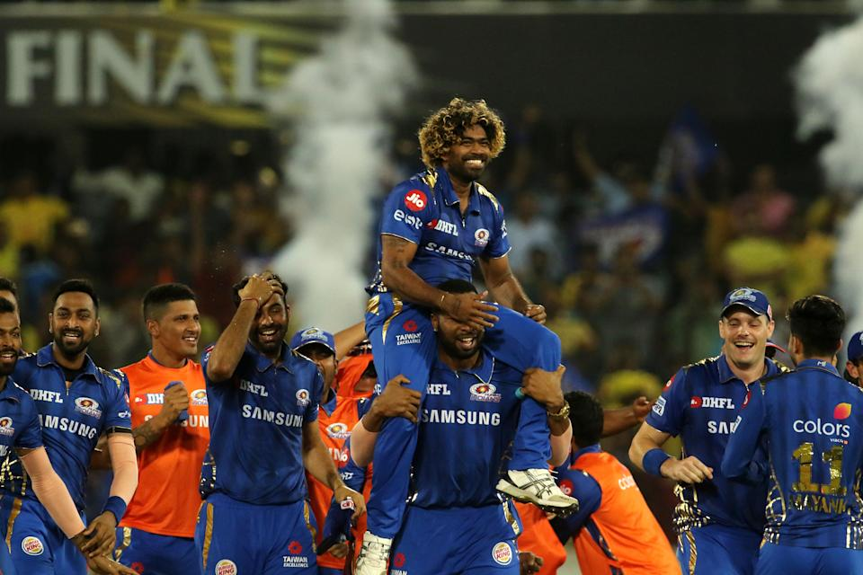 Lasith Malinga picked a wicket off the last ball of the match, where CSK needed 2 runs to win the game.