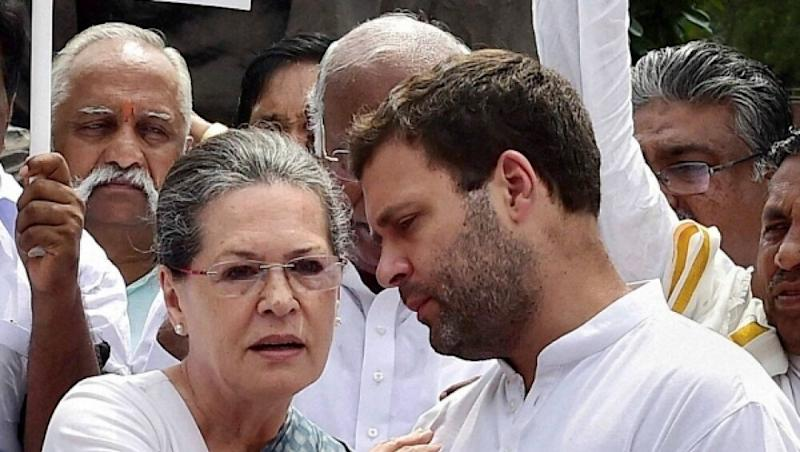 Rahul Gandhi, Sonia Slapped Rs 100 Crore Tax Notice by IT Department Over AJL Income