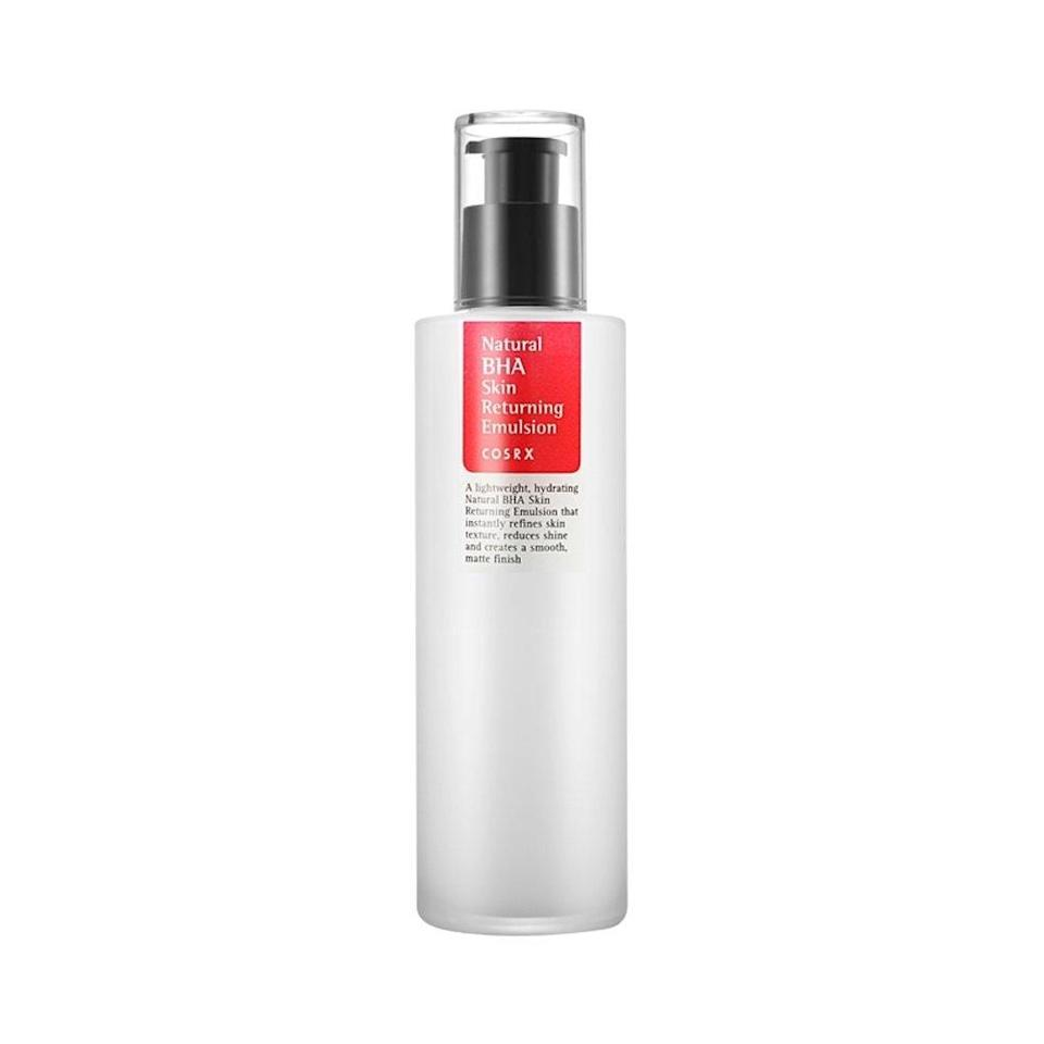 """<p>This Korean emulsion does double duty to moisturize your skin <em>and</em> keep your pores clean, which honestly sounds like the perfect product for hot, sticky summer days in <em>any</em> city.</p> <p><strong>$20</strong> (<a href=""""https://shop-links.co/1681643632578706546"""" rel=""""nofollow noopener"""" target=""""_blank"""" data-ylk=""""slk:Shop Now"""" class=""""link rapid-noclick-resp"""">Shop Now</a>)</p>"""