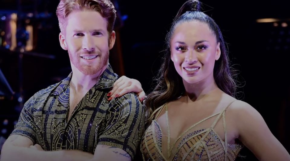 Katya said she and Neil will continue to dance together (PA)