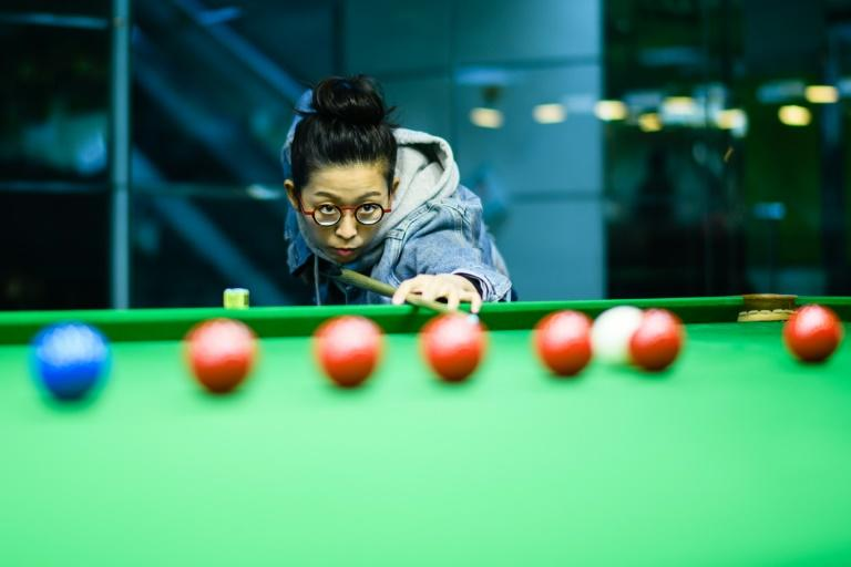Ng On-yee is keen to dispel the image of snooker as a male-dominated sport saying that physical strength does not matter