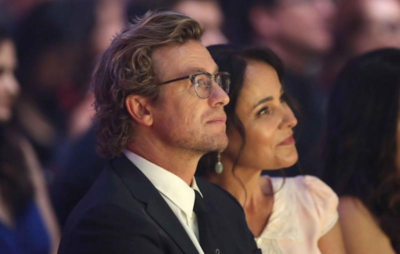 The couple sat together during the awards ceremony. Source: Getty