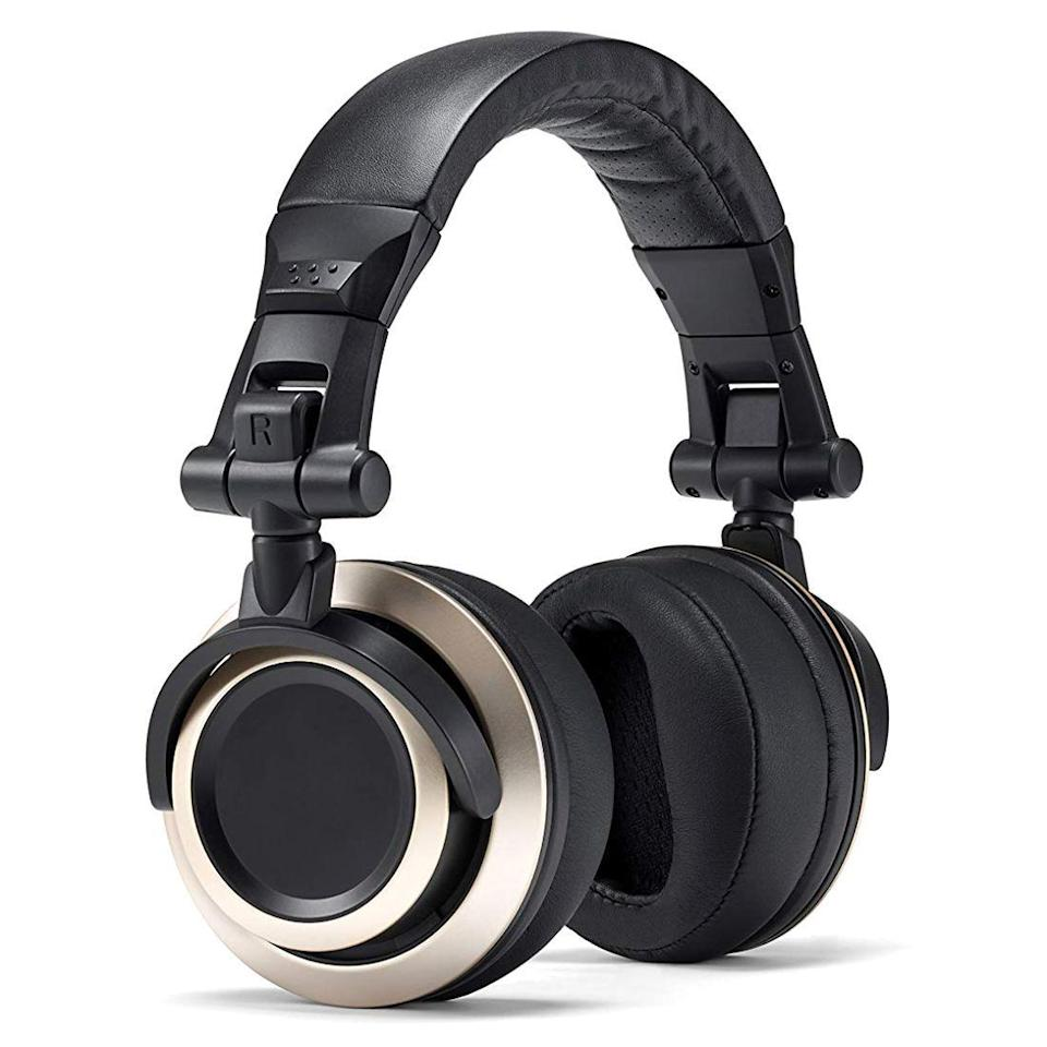 """<p><strong>Status Audio</strong></p><p>amazon.com</p><p><strong>$49.00</strong></p><p><a href=""""https://www.amazon.com/dp/B01BDX1IVW?tag=syn-yahoo-20&ascsubtag=%5Bartid%7C2089.g.285%5Bsrc%7Cyahoo-us"""" rel=""""nofollow noopener"""" target=""""_blank"""" data-ylk=""""slk:Shop Now"""" class=""""link rapid-noclick-resp"""">Shop Now</a></p><p>The CB-1 headphones by Status Audio are the best wired over-ear pick for less than $100. Thanks to a pair of 50-millimeter audio drivers, they offer a surprisingly excellent, neutral sound signature that's suitable even for studio work. Each pair of CB-1 ships with two detachable cables — one coiled for studio work and one straight for casual listening. </p><p>The headphones also pleasantly surprised me by being free of unnecessary branding. Their headband and ear pads are well padded and perfect for long listening stints. And for convenience on the go, they fold for easy storage.<br></p>"""