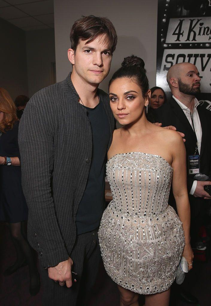 """<p>Mila Kunis and Ashton Kutcher got married in a top-secret wedding in June 2015. """"It was a ninja effort,"""" Kutcher <a href=""""http://www.etonline.com/news/183627_ashton_kutcher_spills_secret_wedding_details_mila_kunis_to_ellen_degeneres_talks_fatherhood"""" rel=""""nofollow noopener"""" target=""""_blank"""" data-ylk=""""slk:told E!"""" class=""""link rapid-noclick-resp"""">told E!</a>. """"We really didn't want helicopters at our wedding and it's a legitimate concern. So I was like posting things on social media that we were in different locations to avoid [people and noise], we didn't want to be screaming our vows at each other.""""</p>"""
