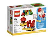 <p>The <span>Lego Super Mario Propeller Mario Power-Up Pack</span> ($10, available Aug. 1) has 13 accessory pieces and is best suited for kids ages 6 and up. (It pairs with the Mario figure that comes in the <span>Lego Super Mario Adventures with Mario Starter Course</span>!)</p>