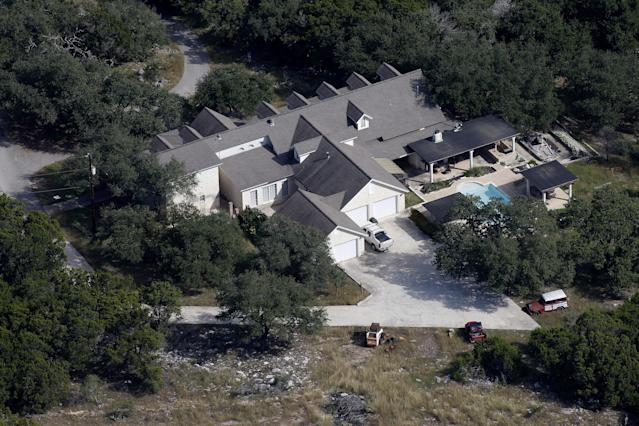 The New Braunfels, Texas, residence of Devin Kelley, the alleged perpetrator of a mass shooting at the First Baptist Church of Sutherland Springs. (Photo: Jonathan Bachman/Reuters)