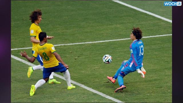 Soccer-Brazil held by feisty Mexico as Ochoa stands firm