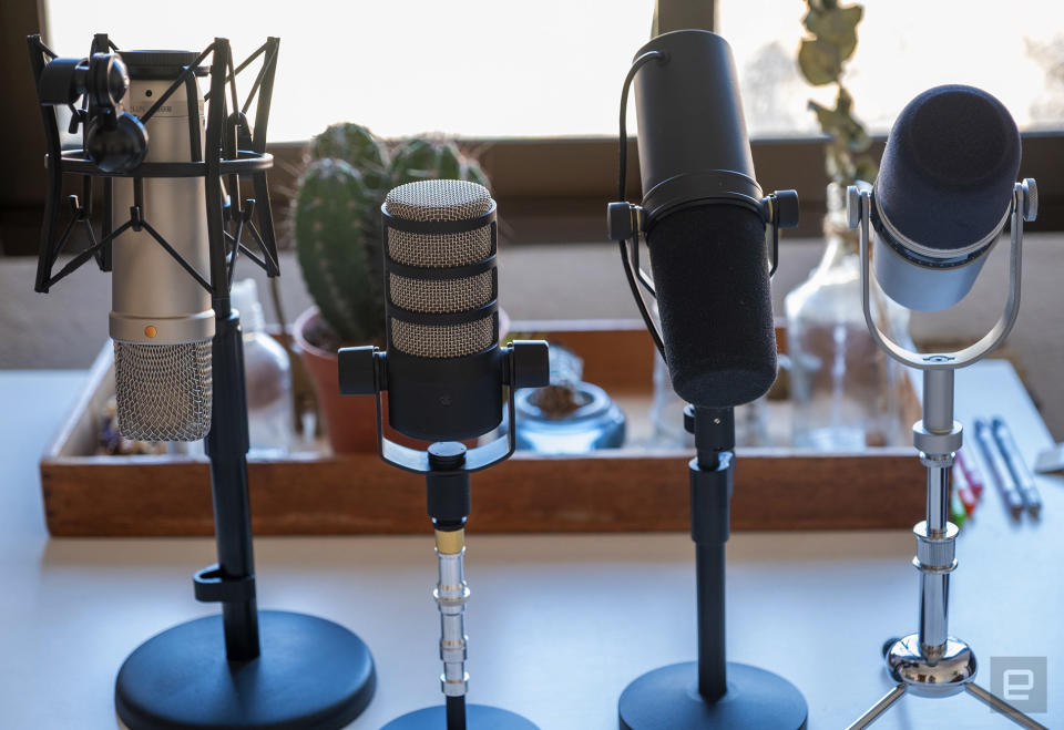 Engadget's advanced podcast gear guide.