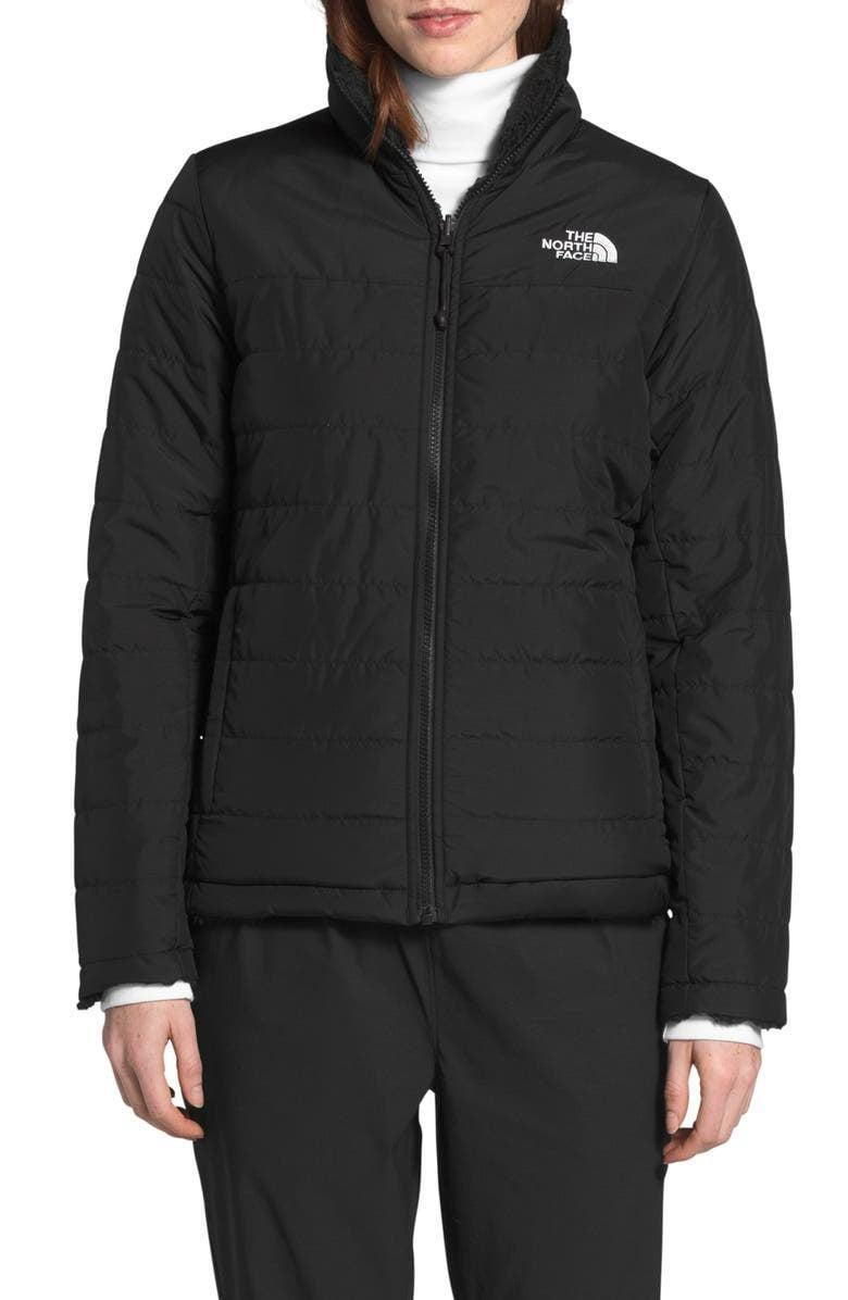<p><span>The North Face Mossbud Insulated Water Repellent Reversible Jacket</span> ($104, originally $149)</p>