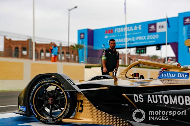 "Antonio Felix da Costa, DS Techeetah, DS E-Tense FE20 <span class=""copyright"">Sam Bloxham / Motorsport Images</span>"