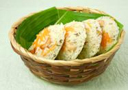 <p><b><br></b>According to Mavalli Tiffin Rooms (MTR), during the WWII when rice, India's staple diet, was in short supply, MTR experimented in making idlis using Rava (or semolina). Now we know whom to thank for the yummy dish.</p><p><b><br></b></p>