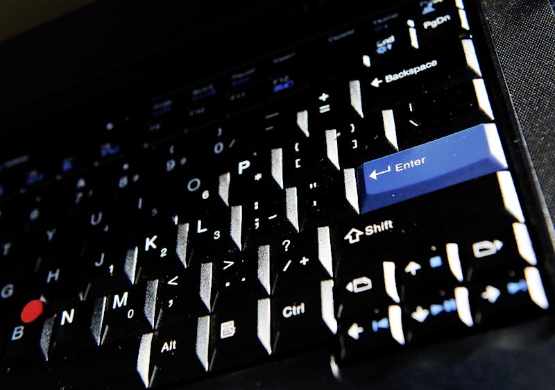 Several major companies say they have been targeted in an international cyberattack (AFP Photo/Greg Wood)
