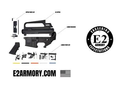E2 Armory offers mil-spec quality AR-15 parts at standard pricing for far less than what competitors charge.