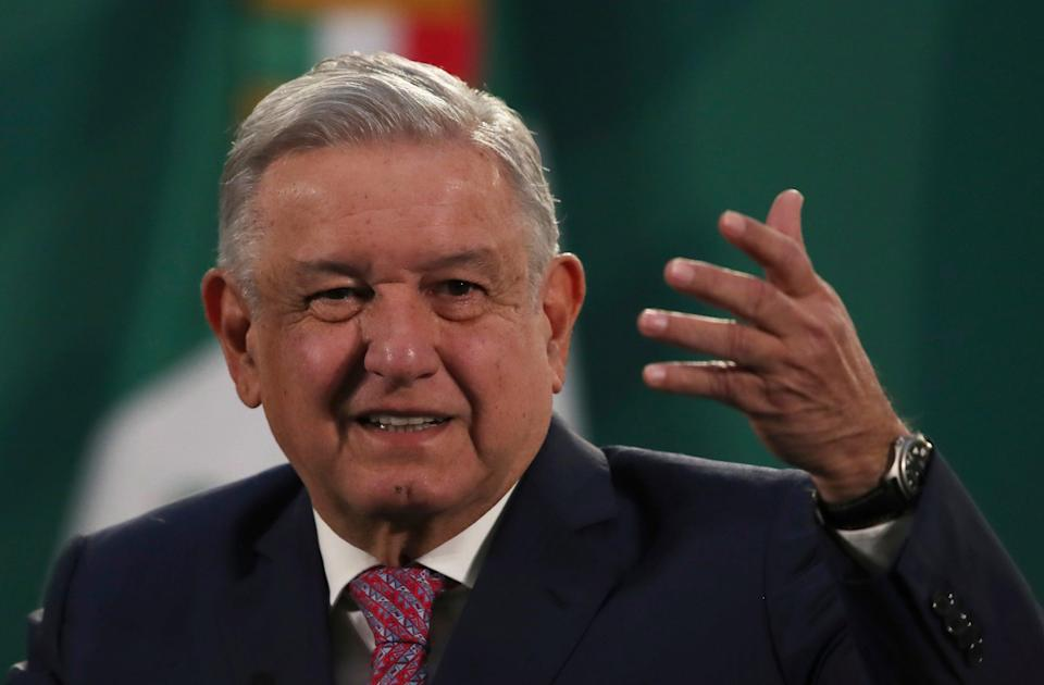 Presidente de Virus Outbreak Mexico (Copyright 2021 The Associated Press. All rights reserved.)