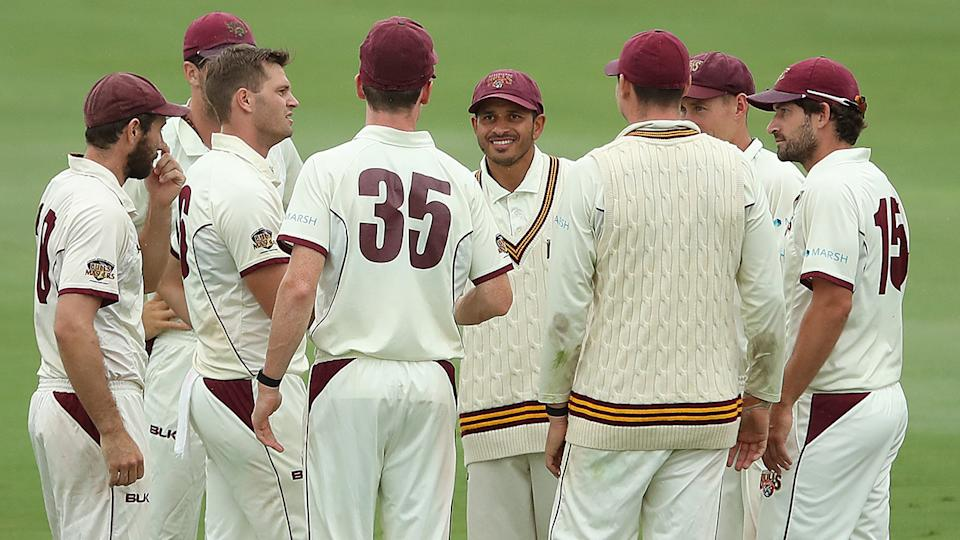 Queensland's Sheffield Shield clash with South Australia has been abandoned before play even began. (Photo by Jono Searle/Getty Images)