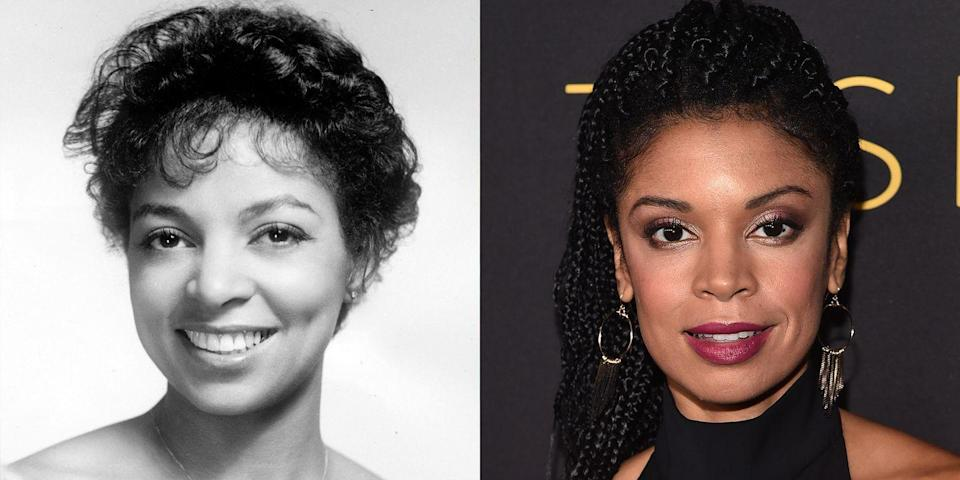 <p>With their similarly shaped noses, upturned eyes, and diamond faces, there's no denying the resemblance between Ruby Dee and the <em>This Is Us </em>actress.</p>