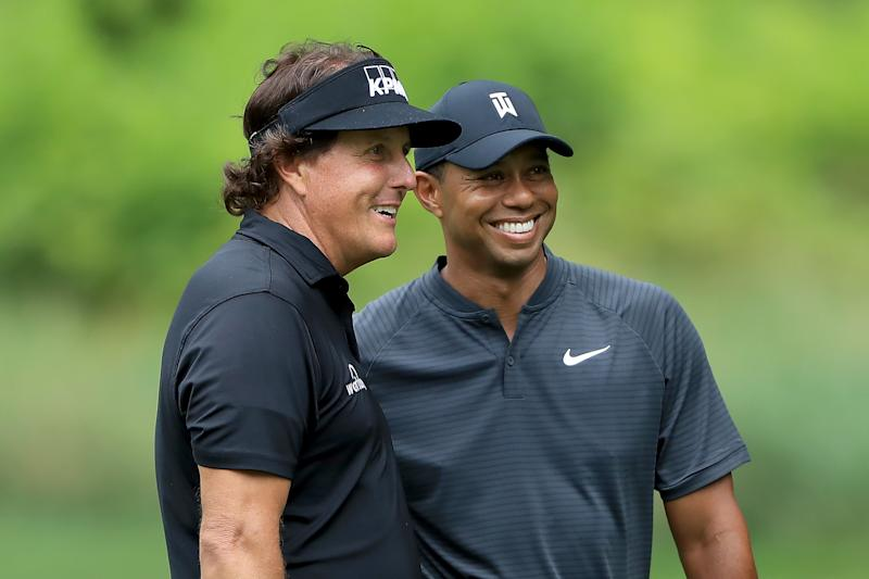 Woods, Mickelson confirm $9 million duel