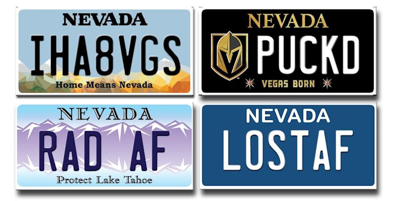 What's the dirtiest thing you can spell with seven letters and numbers? Chances are a team of people at the Nevada DMV has already anticipated it.