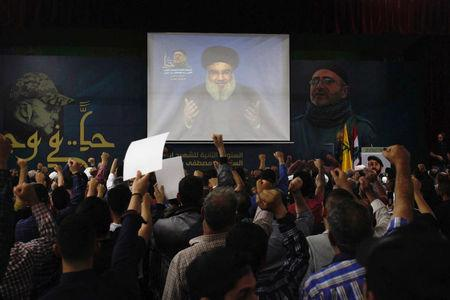 US and six Arab states slap sanctions on Hezbollah leadership