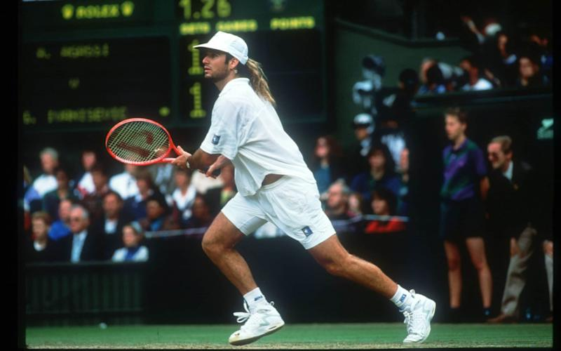 Andre Agassi had lost three grand slam finals - before his success at SW19 in 1992 - Getty Images