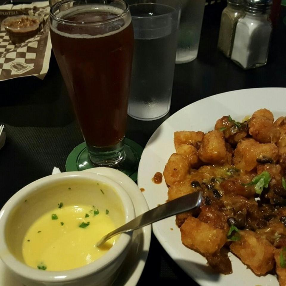 "<p><a href=""https://www.tripadvisor.com/Restaurant_Review-g60877-d1545672-Reviews-Skagway_Brewing_Company-Skagway_Alaska.html"" rel=""nofollow noopener"" target=""_blank"" data-ylk=""slk:Skagway Brewing Co."" class=""link rapid-noclick-resp"">Skagway Brewing Co.</a>, Skagway</p><p>""Get the tots with chili and cheese. Amazingness!!"" -Foursquare user <a href=""https://foursquare.com/user/10281994"" rel=""nofollow noopener"" target=""_blank"" data-ylk=""slk:Clare Wallace"" class=""link rapid-noclick-resp"">Clare Wallace</a></p>"