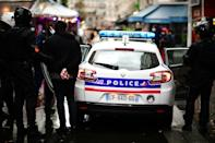"Police said the offensive tactic was aimed at preventing the formation of ""Black Bloc"" anarchist groups after two consecutive weekends of violent demos in Paris"