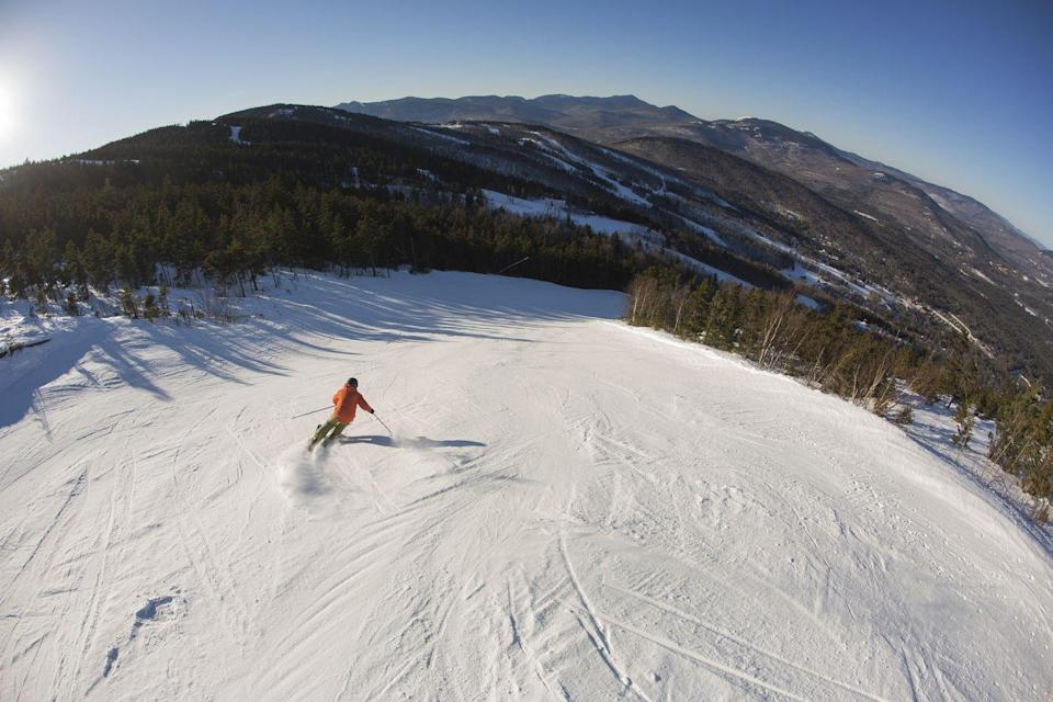 <p>Best known for the Sunday River ski resort, this small village gives off some Star's Hollow vibes with local events. While there, try your hand at fat biking (riding on the snow on bikes outfitted with special fat tires) or indulge your need for speed on a snowmobile. </p>