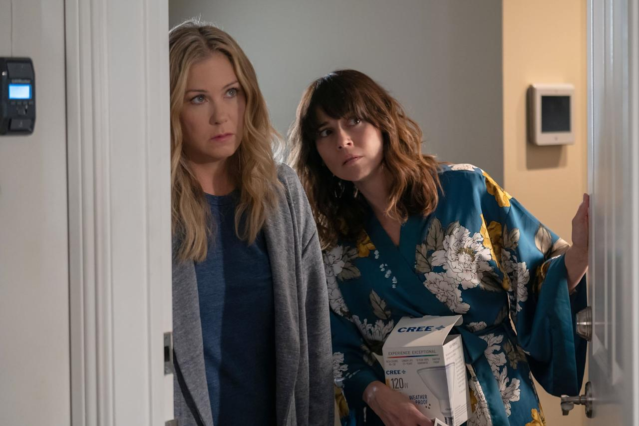 "<p>In July, Netflix renewed <strong>Dead to Me</strong> for <a href=""https://www.popsugar.com/entertainment/is-there-season-3-dead-to-me-47465146"" class=""ga-track"" data-ga-category=""internal click"" data-ga-label=""https://www.popsugar.com/entertainment/is-there-season-3-dead-to-me-47465146"" data-ga-action=""body text link"">a third and final season</a>. If the show follows its previous release schedule, with season one being released in May 2019 and season two in May 2020, then we can hope for the third season <product href=""https://www.harpersbazaar.com/culture/film-tv/a32424996/dead-to-me-season-3-release-date-cast-spoilers/"" target=""_blank"" class=""ga-track"" data-ga-category=""internal click"" data-ga-label=""https://www.harpersbazaar.com/culture/film-tv/a32424996/dead-to-me-season-3-release-date-cast-spoilers/"" data-ga-action=""body text link"">to be released in May 2021</product>. However, showrunner Liz Feldman told <strong>Deadline</strong> in July that due to COVID-19, ""we're definitely hoping to start [production] at some point in the next six months. Obviously anything can happen . . . we were always going to have a longer <a href=""https://deadline.com/2020/07/liz-feldman-emmy-creator-dead-to-me-linda-cardellini-christina-applegate-interview-finale-ending-1202997457/"" target=""_blank"" class=""ga-track"" data-ga-category=""internal click"" data-ga-label=""https://deadline.com/2020/07/liz-feldman-emmy-creator-dead-to-me-linda-cardellini-christina-applegate-interview-finale-ending-1202997457/"" data-ga-action=""body text link"">writing process for this final season</a>.""</p>"