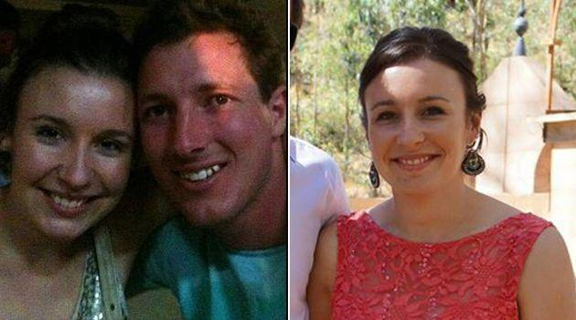 Stephanie Scott pictured with fiancé Aaron Woolley. Photos: Supplied
