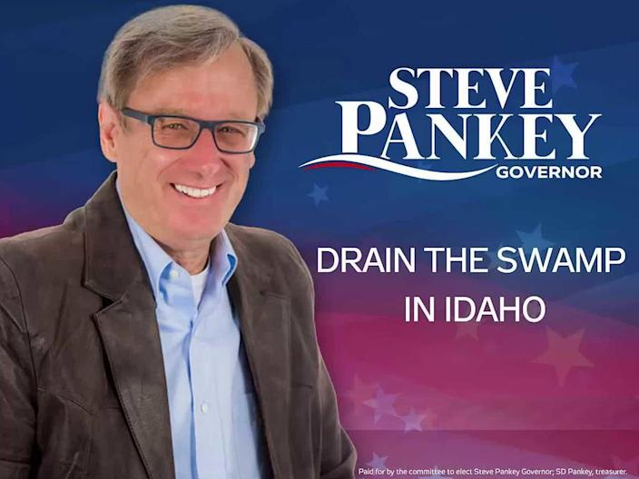 In all, Pankey attempted seven runs for office. There were two campaigns for governor, one for municipal council, one for lieutenant governor and three runs for county sheriff. / Credit: Steve Pankey For Governor YouTube Page