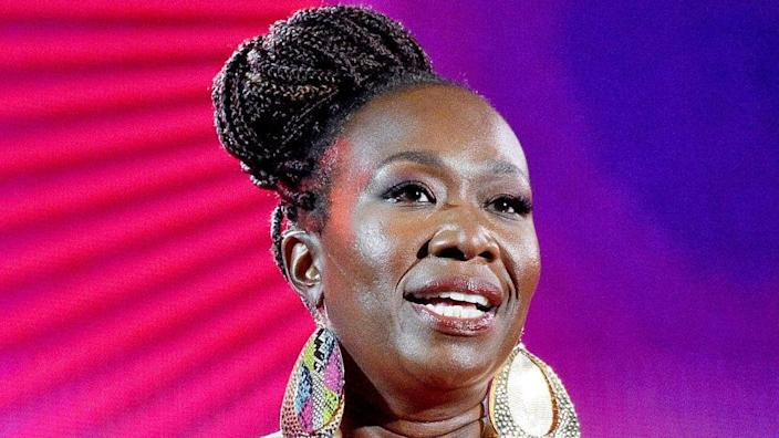 """Joy Reid speaks onstage during the 2019 """"Global Citizen Festival: Power The Movement"""" in New York City's Central Park. (Photo by Theo Wargo/Getty Images for Global Citizen)"""