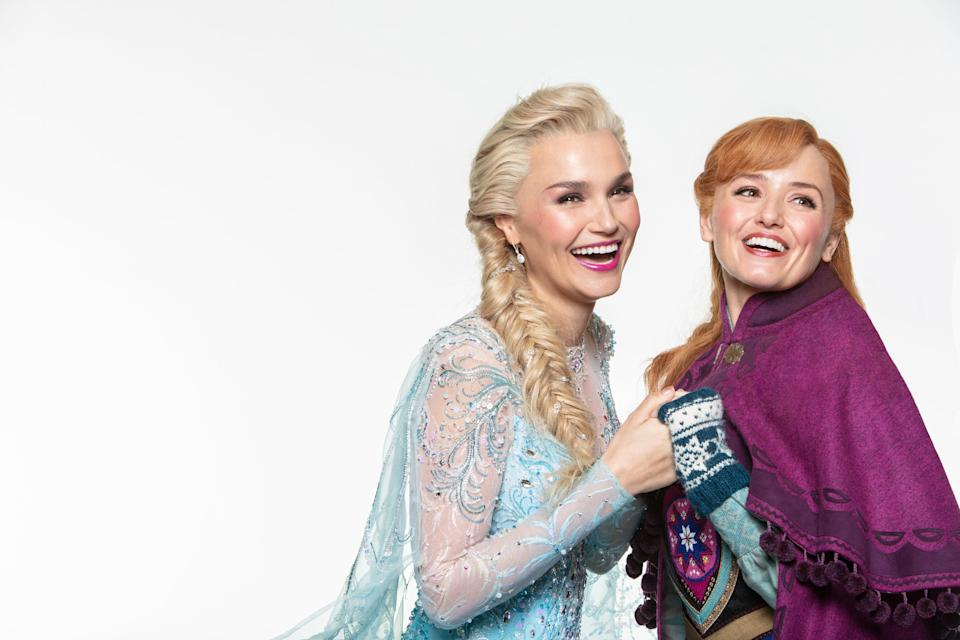 Frozen rehearsals start this week in London's West End after almost a 2 year wait to get it on stage (Photography by Trevor Leighton ©Disney)