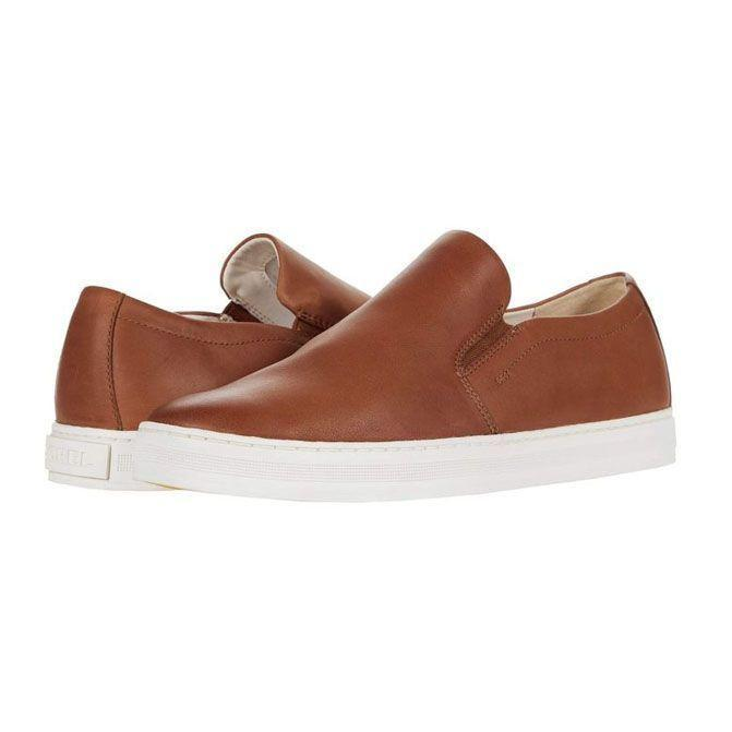 """<p><strong>SOREL</strong></p><p>zappos.com</p><p><strong>$139.95</strong></p><p><a href=""""https://go.redirectingat.com?id=74968X1596630&url=https%3A%2F%2Fwww.zappos.com%2Fp%2Fsorel-caribouu-waterproof-mod-slip-on-black-sea-salt%2Fproduct%2F9466698&sref=https%3A%2F%2Fwww.menshealth.com%2Fstyle%2Fg20087309%2Fmens-slip-on-shoes-summer%2F"""" rel=""""nofollow noopener"""" target=""""_blank"""" data-ylk=""""slk:BUY IT HERE"""" class=""""link rapid-noclick-resp"""">BUY IT HERE</a></p><p>Slip-on sneakers might veer into the casual, but a little selective detailing can make them feel a bit more dressed up. A leather pick is a solid way to do it. </p>"""