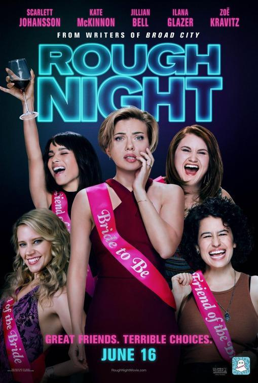 <p>It may be billed as a comedy, but the horrified look on Scarlett Johansson's face all but confirms that audiences are in for a rough night at the movies. </p>