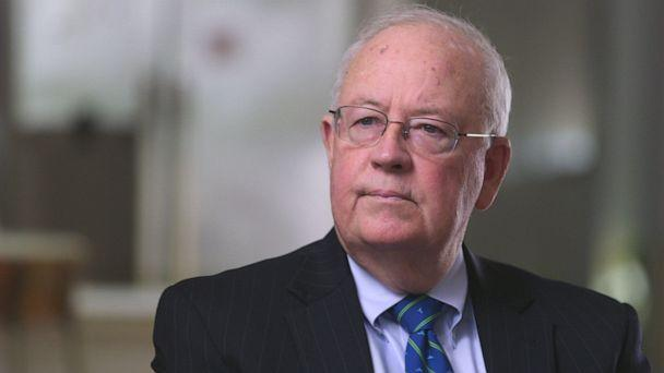 PHOTO: Ken Starr is seen here during a 2018 interview with ABC News. (ABC News, FILE)