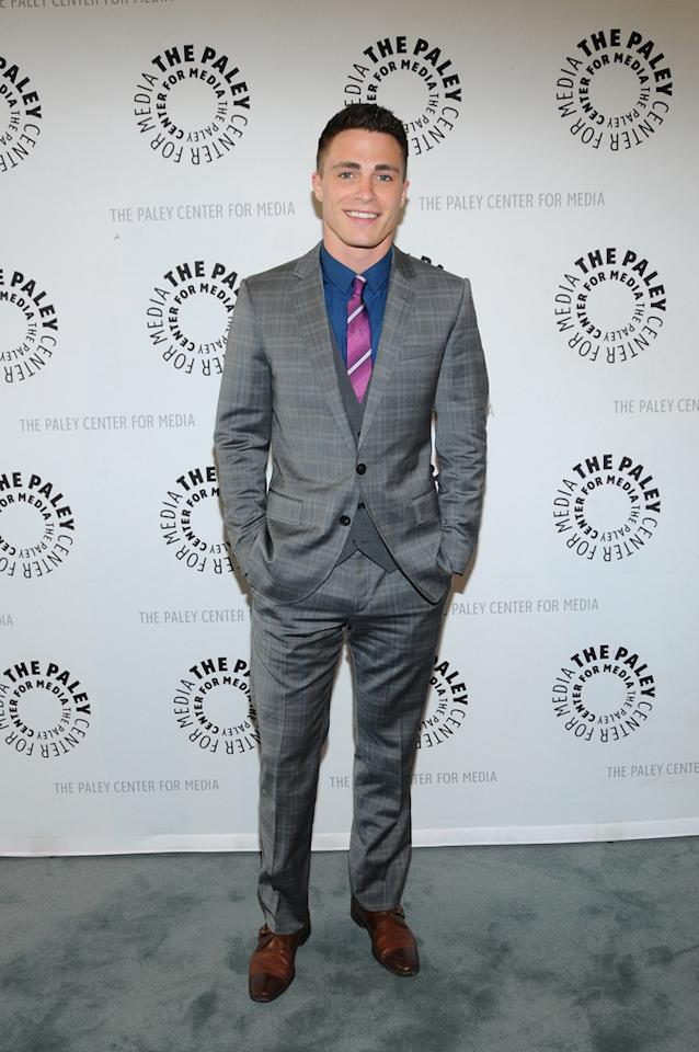 "Colton Haynes attends the Paley Center's Season 2 premiere screening of MTV's ""Teen Wolf"" at  The Paley Center for Media on May 23, 2012 in Beverly Hills, California."
