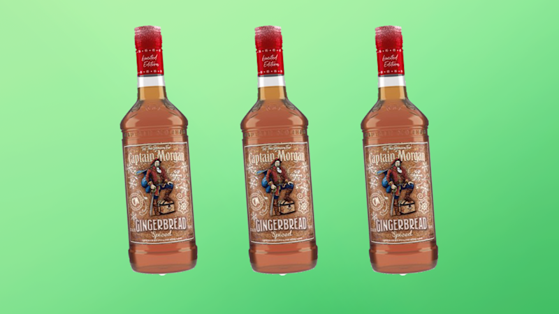 Captain Morgan Gingerbread Spiced Rum is Christmas in a Bottle
