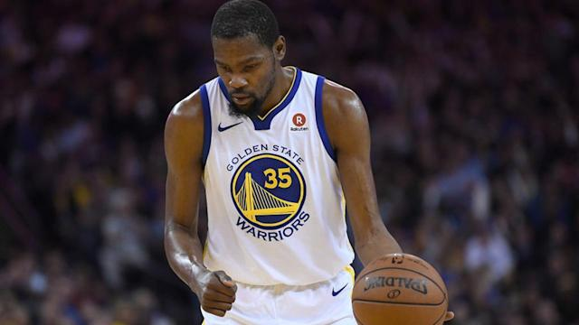 With Stephen Curry sidelined for at least the first round of the NBA playoffs, the Golden State Warriors' fortunes rest on Kevin Durant more than ever. Love him or hate him, this postseason could make or break KD's reputation.