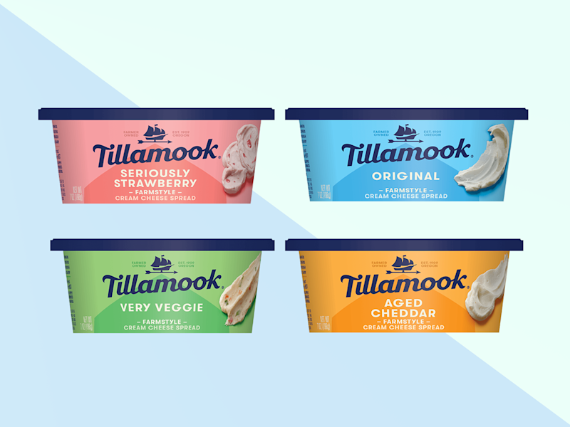 We Tried Tillamook's New Cream Cheese Spreads, and Here's the One We Liked Best