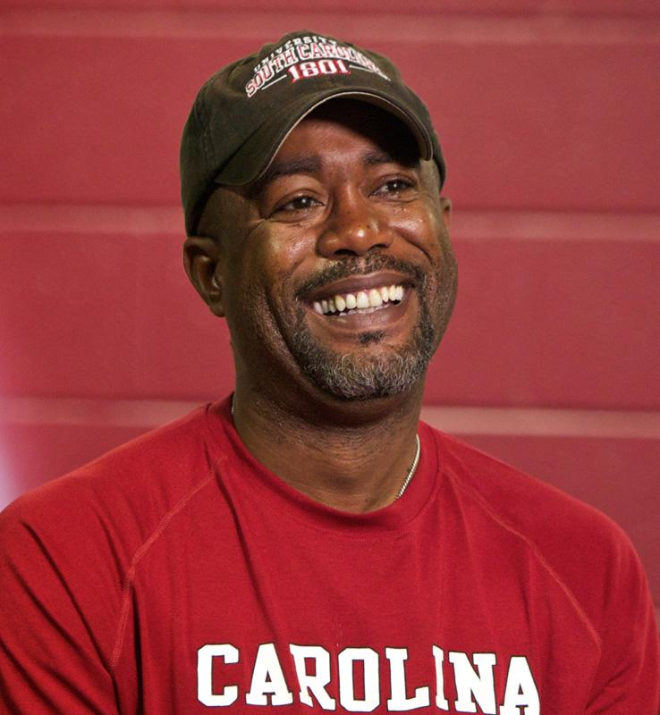 Darius Rucker Gamecock Village University of South Carolina Columbia, SC