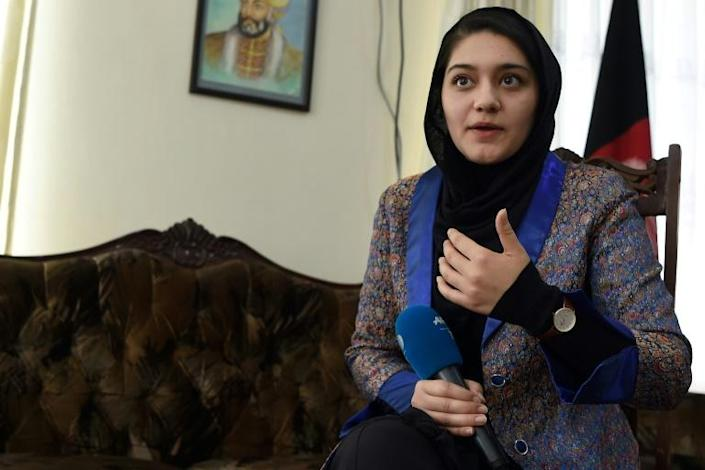"""Aisha Khurram says the Taliban's return to power is a """"nightmare for educated women"""""""
