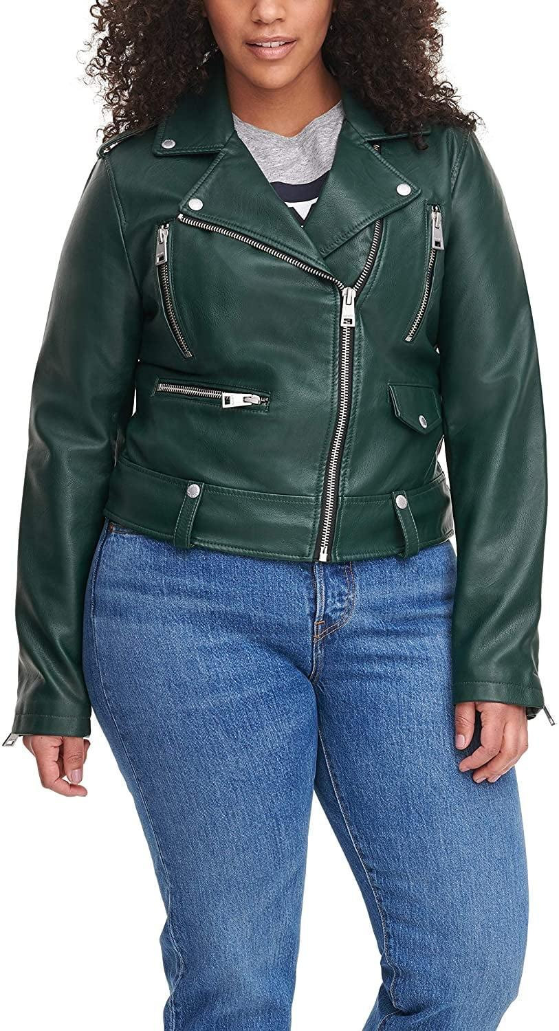 <p>The zippers of this <span>Levi's Faux Leather Jacket</span> ($36 - $150) make it stand out.</p>