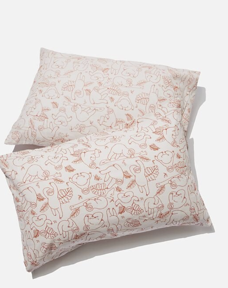 Novelty Pillow Cases Set Of 2. Photo: Cotton On