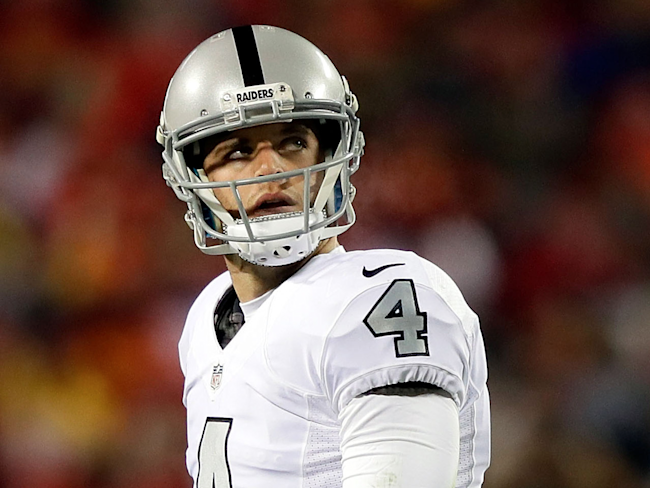 09ae60f8a The Raiders have reportedly gone silent on a contract for Derek Carr ...