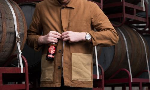 French workwear, Scottish heart: how a bespoke jacket design is challenging preconceptions