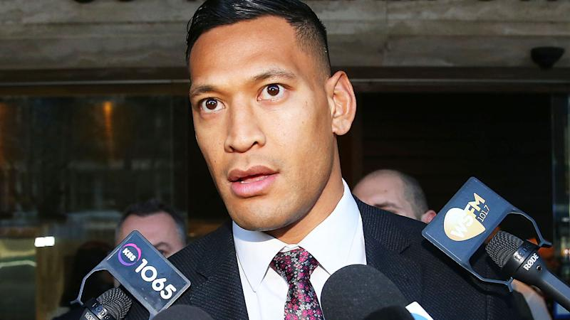 Israel Folau was not in court on Tuesday for the directions hearing. (Photo by Don Arnold/Getty Images)