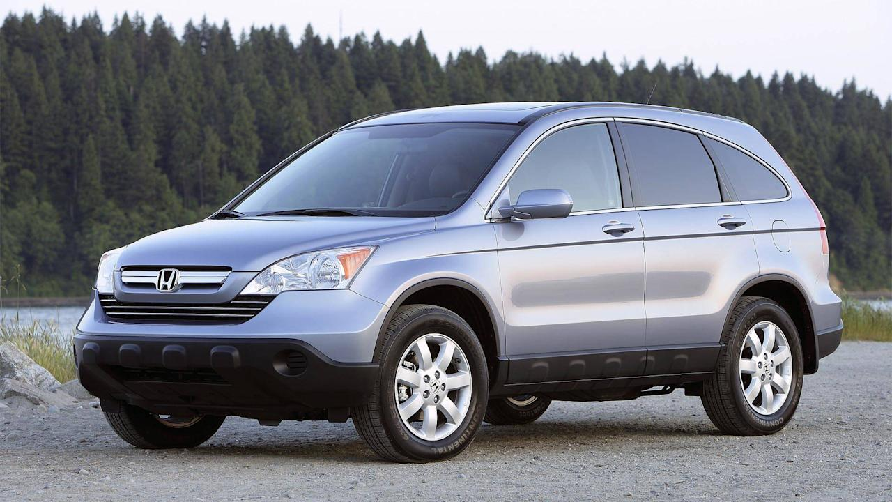 "<p><strong>$8,950 - $10,061</strong></p> <p>Reliability should be your biggest factor when buying a used car, and the <a rel=""nofollow"" href=""https://www.motor1.com/honda/cr-v/"">Honda CR-V</a> has it in spades thanks to this brand's reputation for excellent engineering and build quality. With a thrifty four-cylinder engine underhood, the 10-year-old CR-V also manages 26 miles per gallon on the highway and 22 combined – very respectable for its day.</p>"