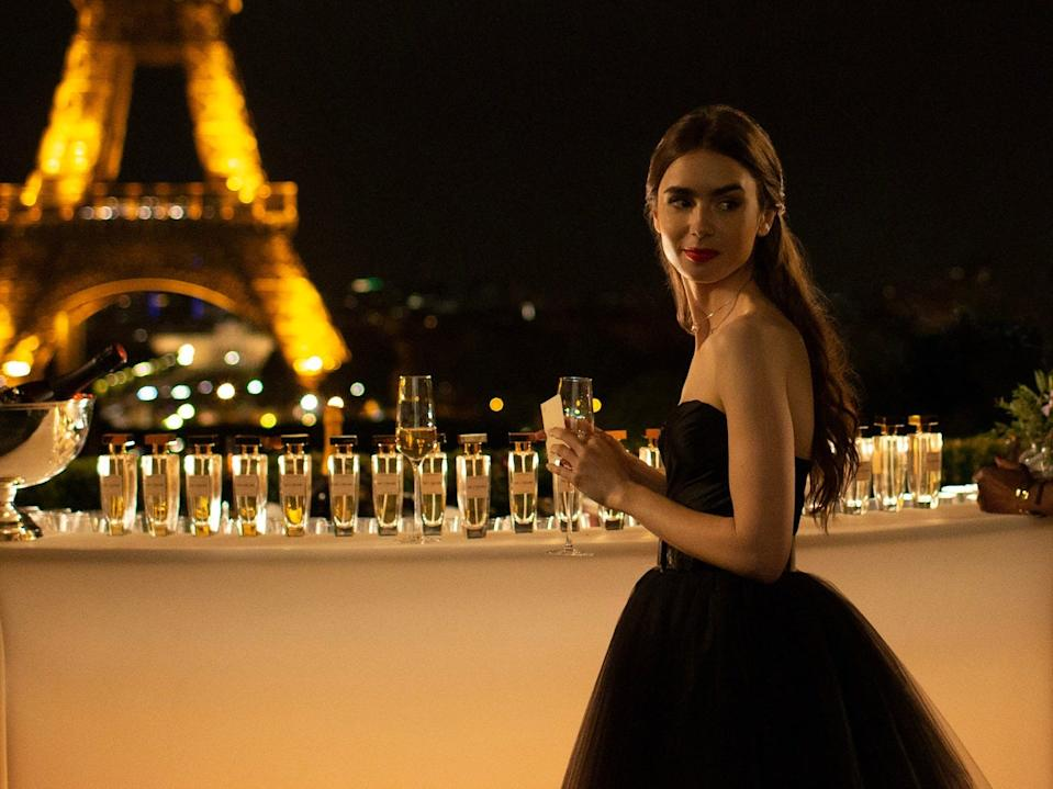 """Lily Collins is the star and coproducer of """"Emily in Paris."""""""