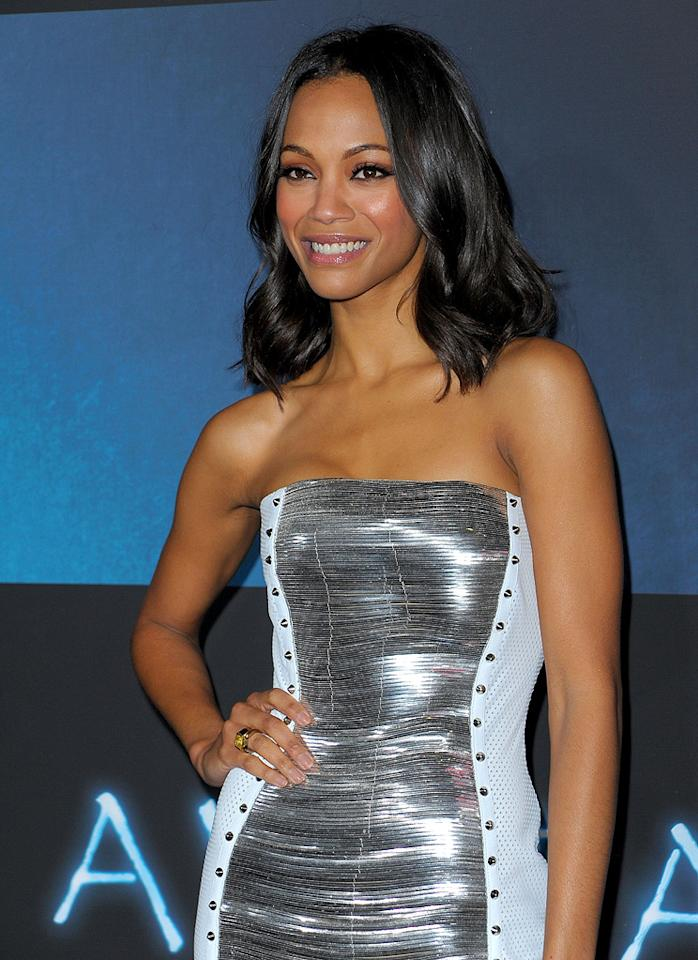 "<a href=""http://movies.yahoo.com/movie/contributor/1800362233"">Zoe Saldana</a> at the Los Angeles premiere of <a href=""http://movies.yahoo.com/movie/1809804784/info"">Avatar</a> - 12/16/2009"