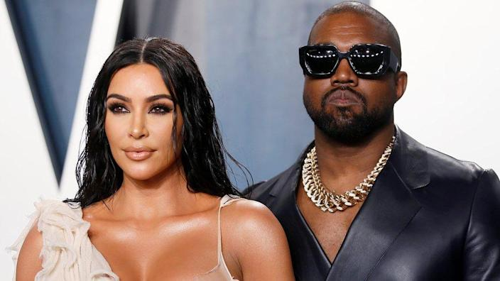 Kim and Kanye married in 2014